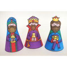 COLOUR IN: NATIVITY by Kate Hadfield