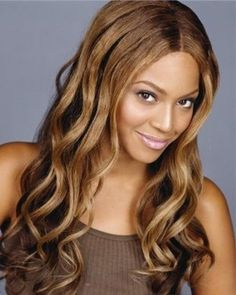 Beyonce Long Wave 100% Human Hair Lace Wig about 20 Inches : wigsbuy.com