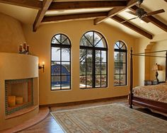 BEDROOM SPANISH STYLE Design, Pictures, Remodel, Decor and Ideas - page 9