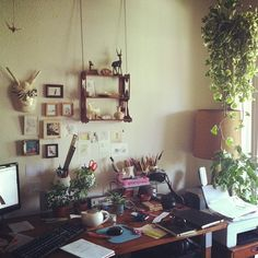 Everyone needs a work/art space that is all their own