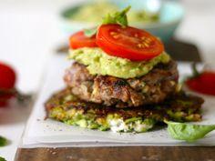.: The Banting Chef :. Banting burger with feta