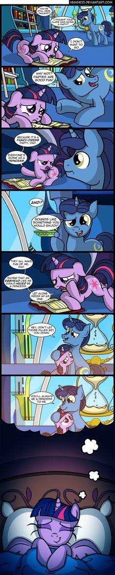 #859028 - artist:veggie55, comic, father and daughter, filly, flashback, night light, princess twilight, safe, sleeping, twilight sparkle - Derpibooru - My Little Pony: Friendship is Magic Imageboard