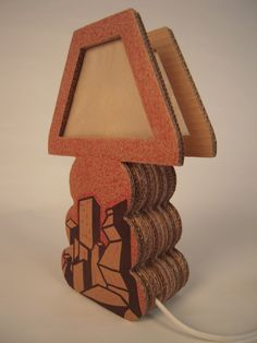 Painted Cardboard Lamps on Behance