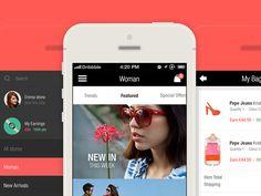 shot dribbble 20 Fantastic Examples of Flat UI Design In Apps