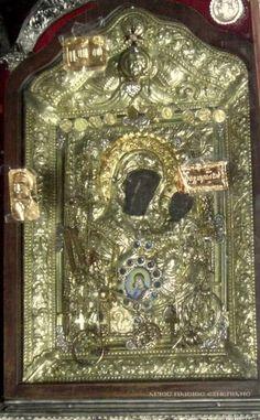 Παναγία Ελώνη στην Αρκαδία Verge, Orthodox Icons, Ancient Greek, Holy Spirit, Madonna, Greece, Christ, Mosaic, Religion