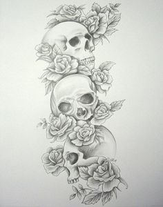 Skulls and Roses, want something like this