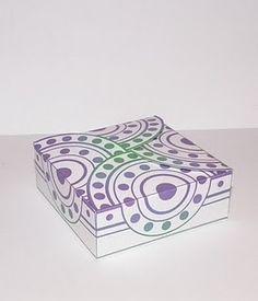 Printable gift box