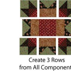 Arizona Quilt Blocks Are Easy to Sew, With Lots of Potential Customization: Assemble the Arizona Quilt Block