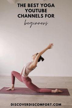 A quick look at the best channels for yoga on YouTube for beginners — after having done a whole bunch of videos. | best yoga youtube channels | yoga beginners learning | yoga beginners video | workouts at home | at home yoga workout | yoga workouts | how to start yoga | at home yoga for beginners | learn yoga at home #yoga #discoverdiscomfort Beginner Yoga Workout, Yoga Workouts, Workout Routines, Fitness Workout For Women, Yoga Fitness, 10 Minute Morning Yoga, Yoga Videos For Beginners, Yoga Youtube, Yoga Mantras
