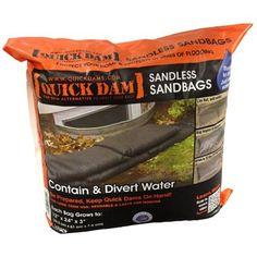 Quick Dam Sandless Sandbag (6-Pack)