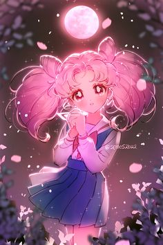 Find images and videos about pink, art and anime on We Heart It - the app to get lost in what you love. Sailor Moom, Arte Sailor Moon, Sailor Moon Fan Art, Sailor Chibi Moon, Sailor Moon Character, Sailor Moon Cosplay, Sailor Jupiter, Sailor Moon Aesthetic, Aesthetic Anime