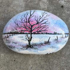 Painted Garden Rocks, Painted Rocks Craft, Hand Painted Rocks, Stone Pictures Pebble Art, Stone Art, Pebble Painting, Stone Painting, Christmas Rock, Rock And Pebbles