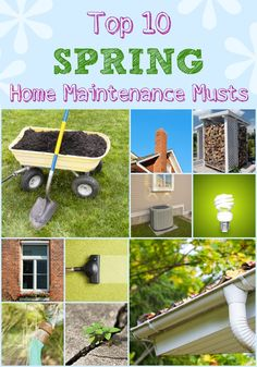 Top 10 spring home maintenance musts http://www.woodard247.com/2014/04/top-10-spring-home-maintenance-musts/