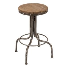 Metal Wood Bar Stool - Overstock™ Shopping - Great Deals on Bar Stools