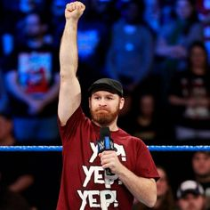 """"""" Movement arrives when KO and Sami Zayn take over SmackDown LIVE, which leads to a shocking announcement from Daniel Bryan. Kevin Owens, Shocking News, Daniel Bryan, Wwe Photos, Wwe Superstars, Zayn, Wrestling, Concert, Lucha Libre"""