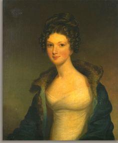 Miss Thompson 1820 portrait by Jacob Eichholtz.