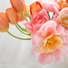 Crepe Peony Tutorial - Can you believe these Peonies aren't real? Learn how to make these incredible paper flowers.