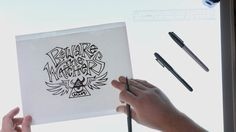 Learn how to hand-letter type and turn your letterform drawings into pristine vector graphics and custom typography.