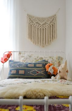 . Animal Print Shop, Kid Spaces, Fiber Art, Shag Rug, Bedroom Decor, Weaving, Nursery, Tapestry, Blanket