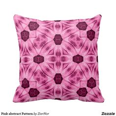 Pink abstract Pattern Pillows