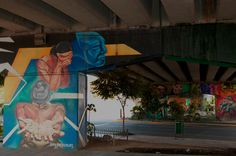 Graffiti Puente Insurgentes de León Guanajuato @jcvillagomez