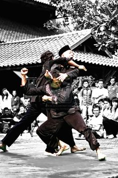 """Silat - """"Originally developed in what are now Indonesia, Malaysia, south Thailand, and Singapore, it is also traditionally practiced in Brunei, Vietnam and the southern Philippines. There are hundreds of different styles but they tend to focus either on strikes, joint manipulation, throws, bladed weaponry, or some combination thereof. Silat is one of the sports included in the Southeast Asian Games and other region-wide competitions."""" WIKI"""