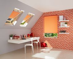 Go orange-tastic with these fab Hillarys Sherbourne roller blinds - keeping the rest of the room neutral and bringing in other orange colour pops throughout helps make the space cohesive, without being overpowering Orange Blinds, Neutral Colors, Light Colors, Vivid Colors, Colours, Blinds For You, Blinds For Windows, Hillarys Blinds, Orange