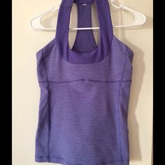 Lululemon Scoop Neck Very much pre-loved. Never washed with towels. Beautiful color and extremely flattering. Great condition. No signs of wear. Selling it because I have enough lulu stuff. Rather have someone else enjoy it. lululemon athletica Tops