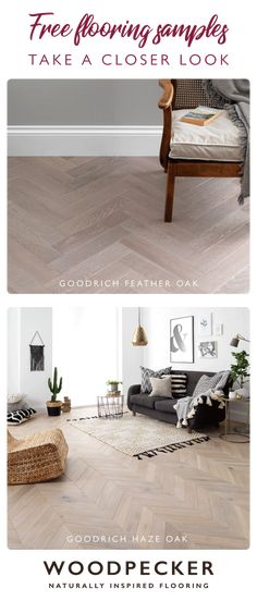 Take a closer look and discover your dream wood floor with free flooring samples. Order from our website and we'll pop them in the post.