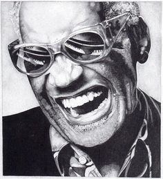 Ray Charles - smile much and often  #LoudounOrthodontics www.loudounorthodontics.com