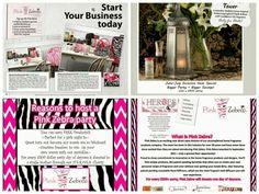 Invitation to explore Pink Zebra www.pnkzdenise.com