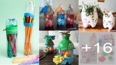 BOTELLAS DE PLÁSTICO SENCILLAS Paper Flowers, Sewing, Home Decor, Paper Case, Craft Ideas, Xmas, Tela, Babydoll Sheep, Make Shoes
