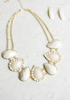 Drops of Ivory necklace
