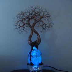 Wire Tree Of Life sculpture Soul Mate SpiRits by CrowsFeathers, $245.00