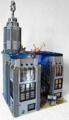 Bioshock Rapture in Lego form
