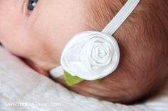 Crushed Fabric Flower ...... as an Accessory: a quick and easy way to make fabric flowers for anything that needs an embellishment. www.makeit-loveit.com