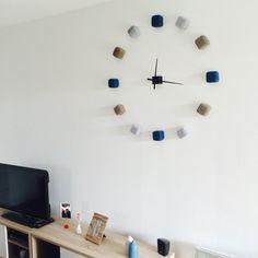 Pendule unique Idée, inspiration, décoration, scandinave, nordique, cocoon, salon