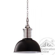 Industrial Black Foundry Light