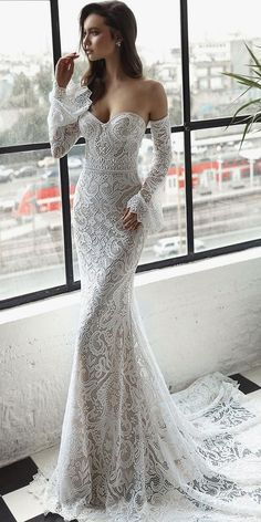 Trendy Wedding Dresses 2018 For Contemporary Bride ❤️ top wedding dresses de. Trendy Wedding Dresses 2018 For Contemporary Bride ❤️ top wedding dresses detached sleeves lace sweetheart julie vino bridal ❤️ Full gallery: weddingdressesgui. Wedding Dress Cinderella, Wedding Dresses 2018, Wedding Dress Styles, Bridal Dresses, Dress Wedding, Dress Prom, Dresses Dresses, Dress Lace, Long Sleeve Lace Gown