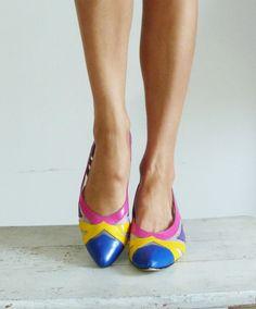 Vintage 1980's Shoes