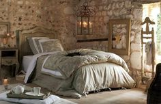 This is a Bedroom Interior Design Ideas. House is a private bedroom and is usually hidden from our guests. Much of our bedroom … Bedroom Decor For Small Rooms, Bedroom Decor For Couples, Bedroom With Bath, Home Decor Bedroom, Provence Interior, Simple Bedroom Design, Provence Style, Comfy Bed, Decor Interior Design