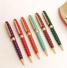Spotty pens