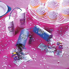 Nunchuck Pink Ninja Party Favors Idea - OrientalTrading.com