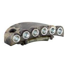 H168 - KAHKI CAPLIGHT 5 White LED Novelty Lighting, White Lead, Led, Light Fixture