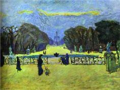 Gardens of Tuileries - Pierre Bonnard