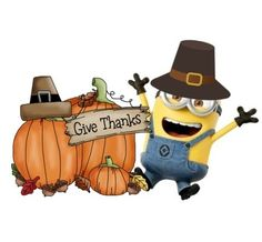 Give Thanks, Bowser, Minions, Thanksgiving, Thankful, Christmas Ornaments, Holiday Decor, Illustration, Fictional Characters