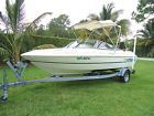1997 MONTEREY 180M br w/ Mercruiser 3.0 Good Condition and Trailer Low Reserve