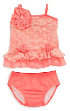 adorable sun kissed two-piece #swimsuit for babies  http://rstyle.me/n/f4ncgpdpe