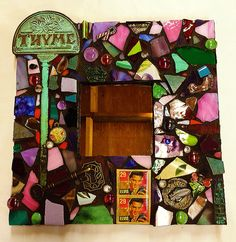 Basic Mosaic Mirror Class at Art Classes Md