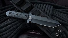 Новый нож с фиксированным клинком Hardcore Hardware MFK02